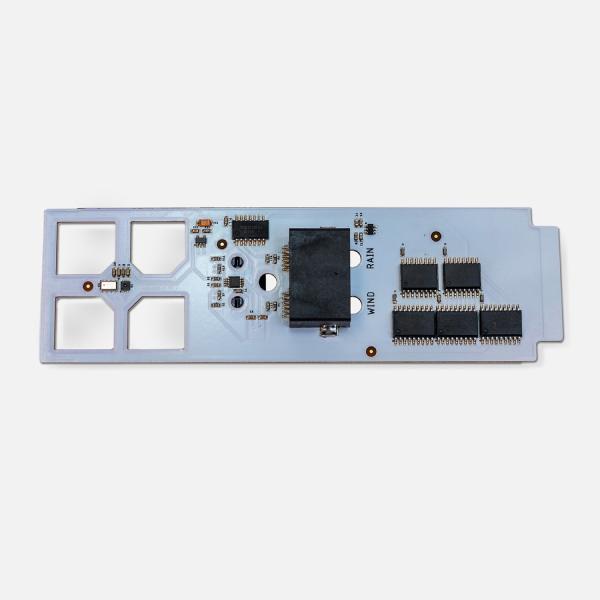 Sensor board for weather station