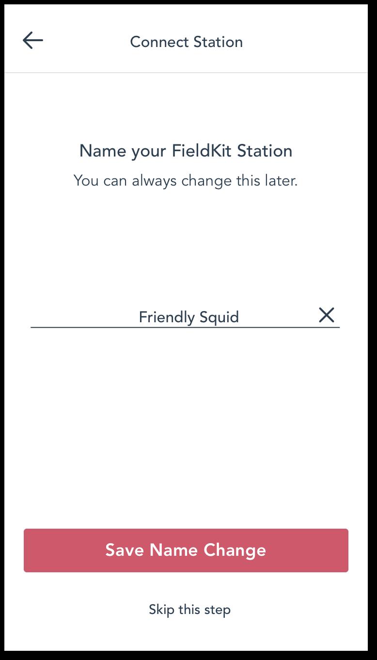 Name Station