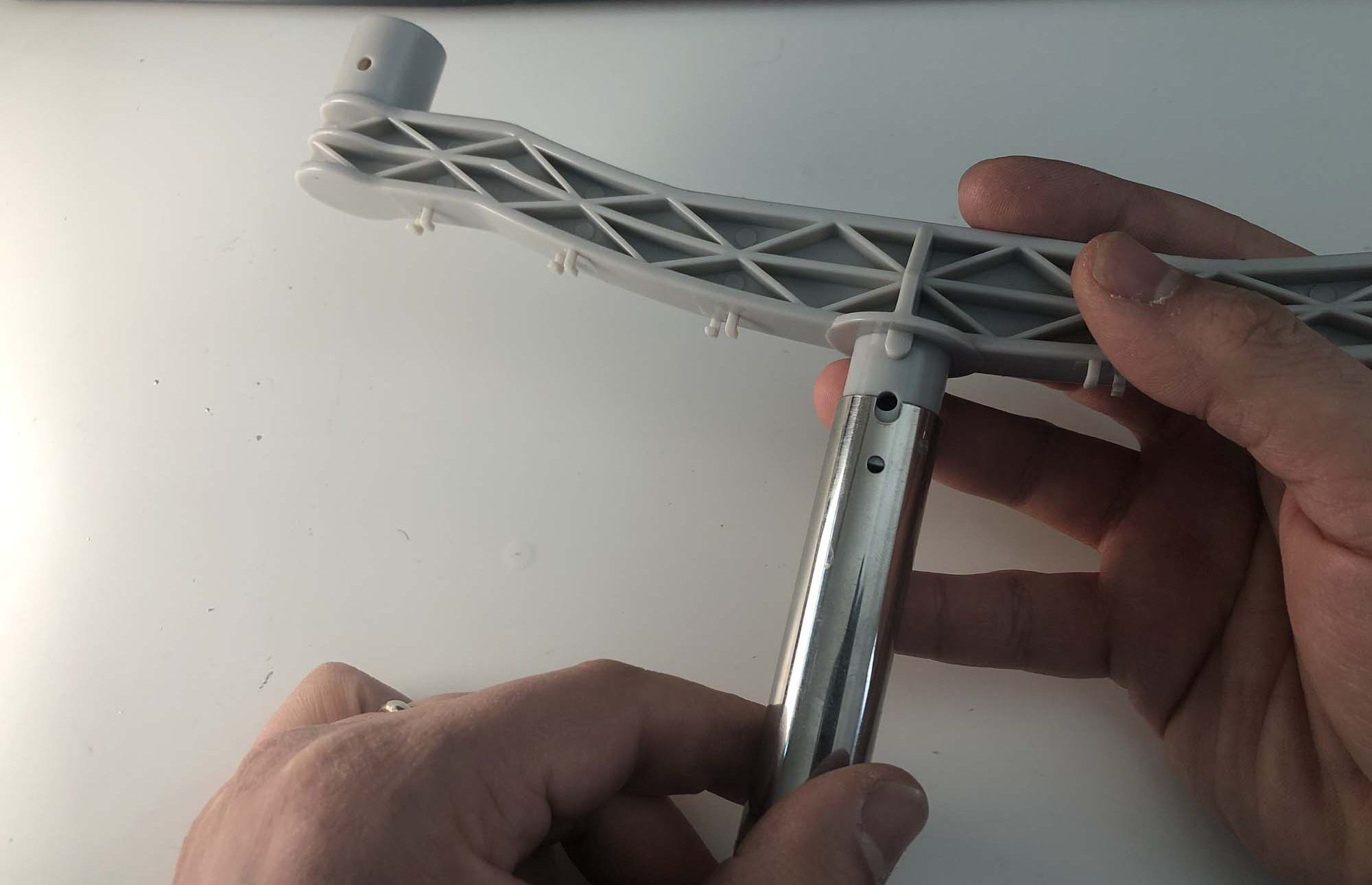 Assemble Mounting Pole